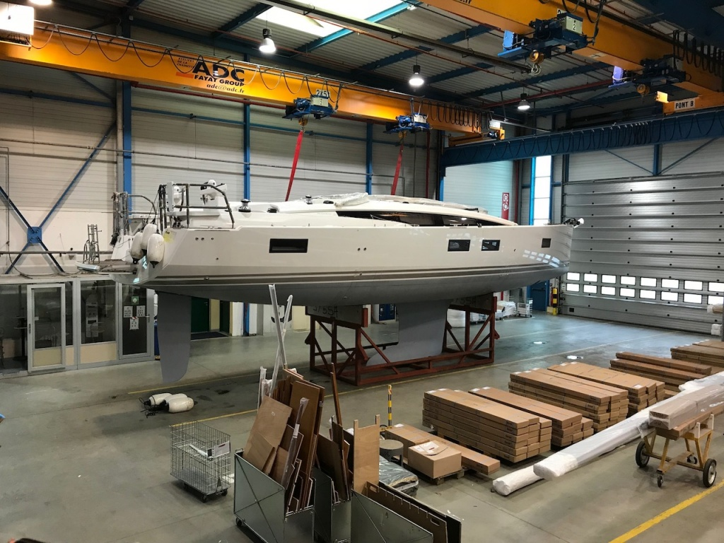 Jeanneau Factory April 2018 Yachting 2000